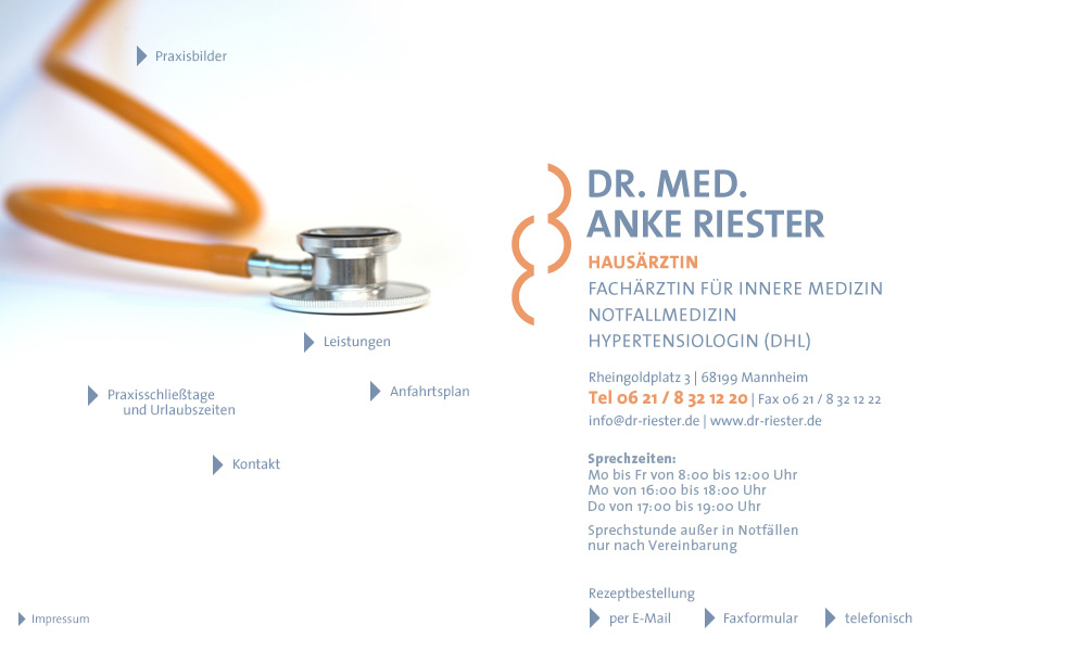 Dr. Riester